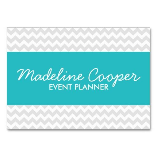 Gray and turquoise modern chevron business card business cards gray and turquoise modern chevron business card colourmoves Gallery
