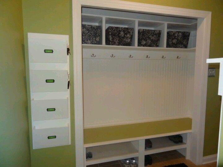 Front Foyer Closet Doors : Goodbye closet bifold doors. organization pinterest doors