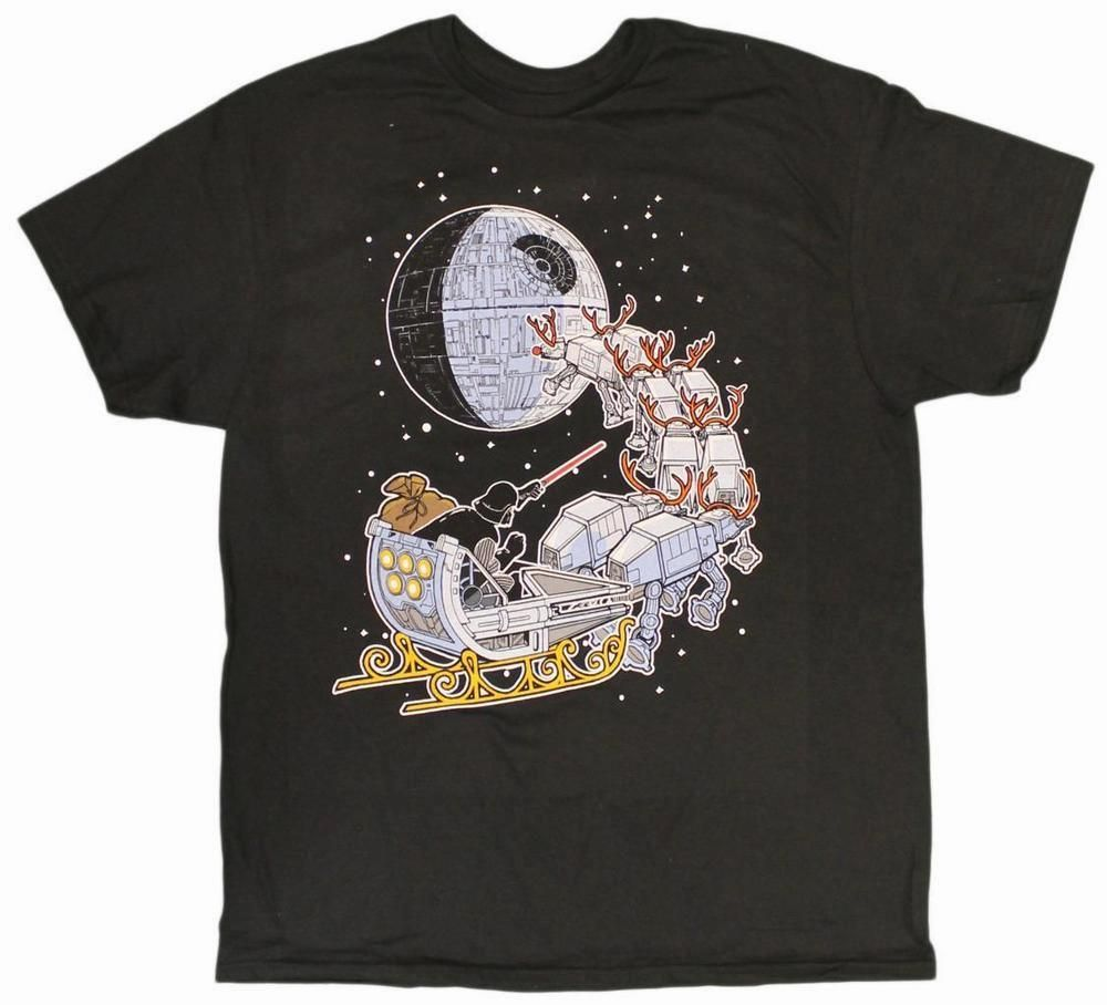 Star Wars  Darth Vader Sleigh Christmas T-Shirt      >>>>> Buy it here  http://bit.ly/2g9jkbS