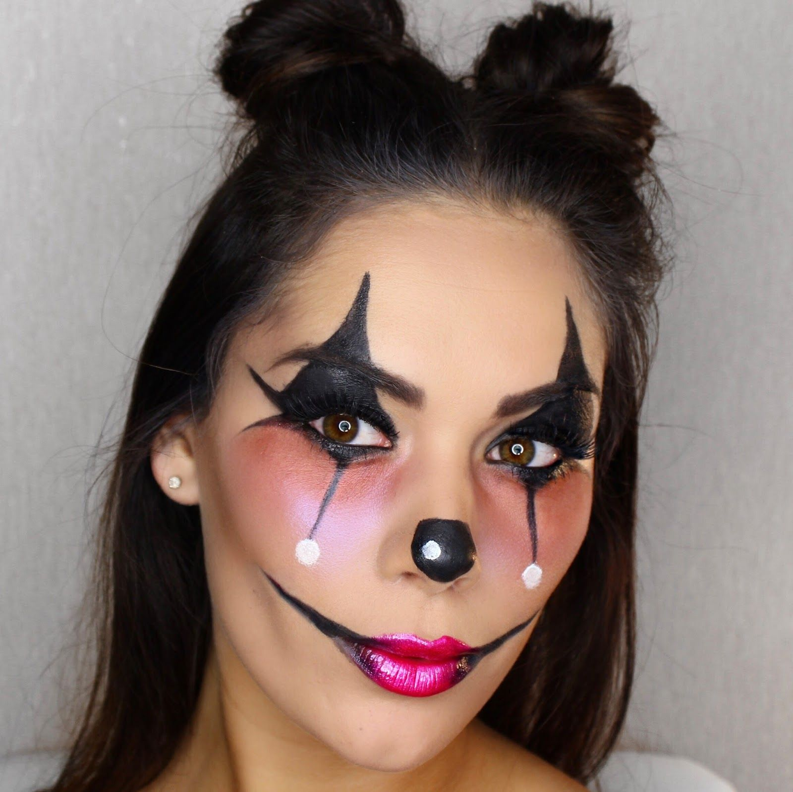 Halloween Make Up Anleitung Fasching Make Up Im Letzten Moment Clown Schminken