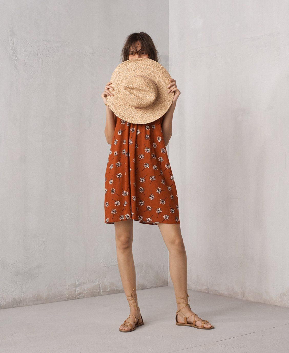 6809f5f0fbe1 madewell x biltmore braided fedora hat worn with tulum cover-up dress +  boardwalk lace-up sandals.
