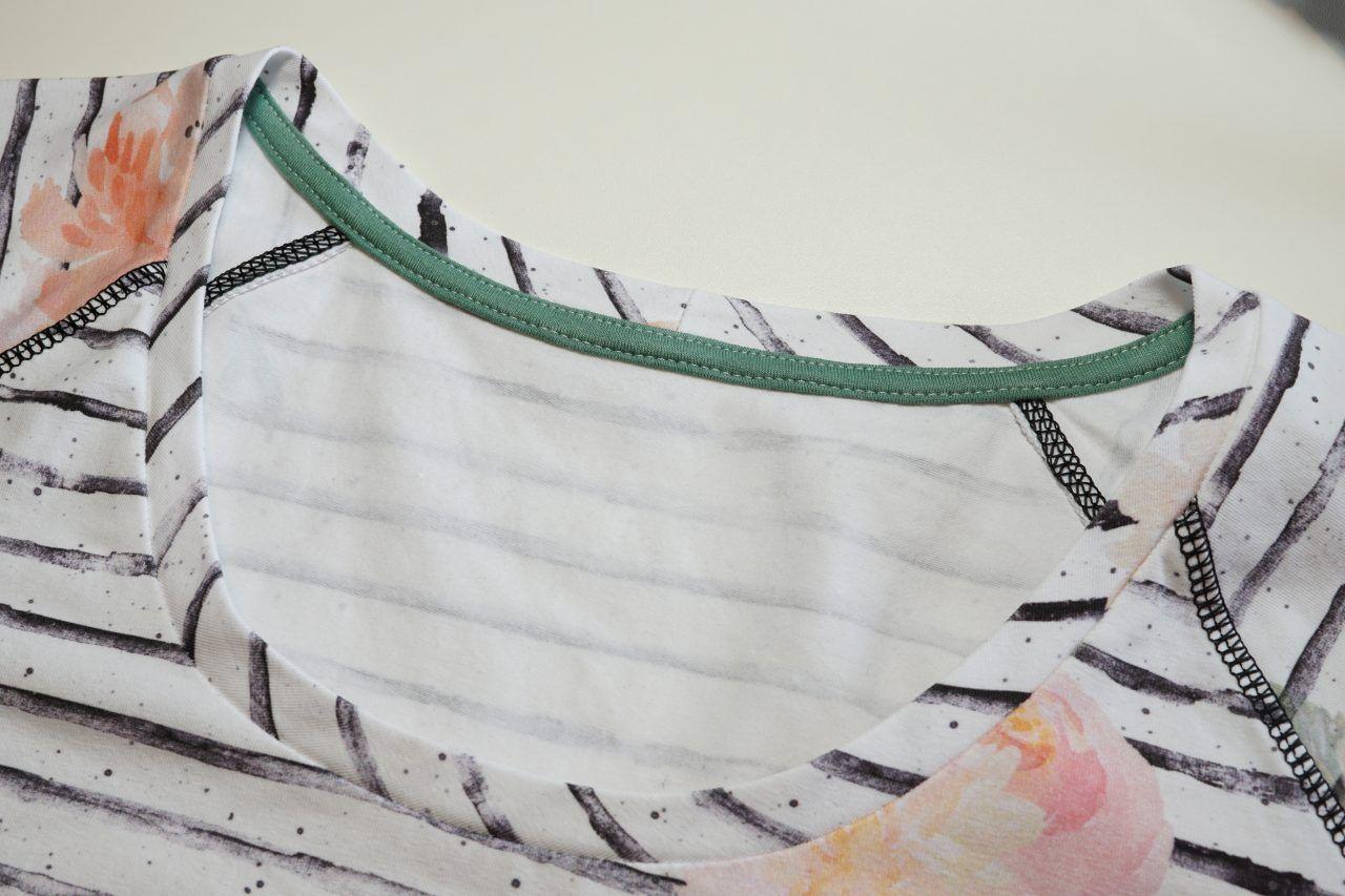 Tutorial: Versäuberungsstreifen für den hinteren Halsausschnitt (Ratgeber) #tutorielsdecouture