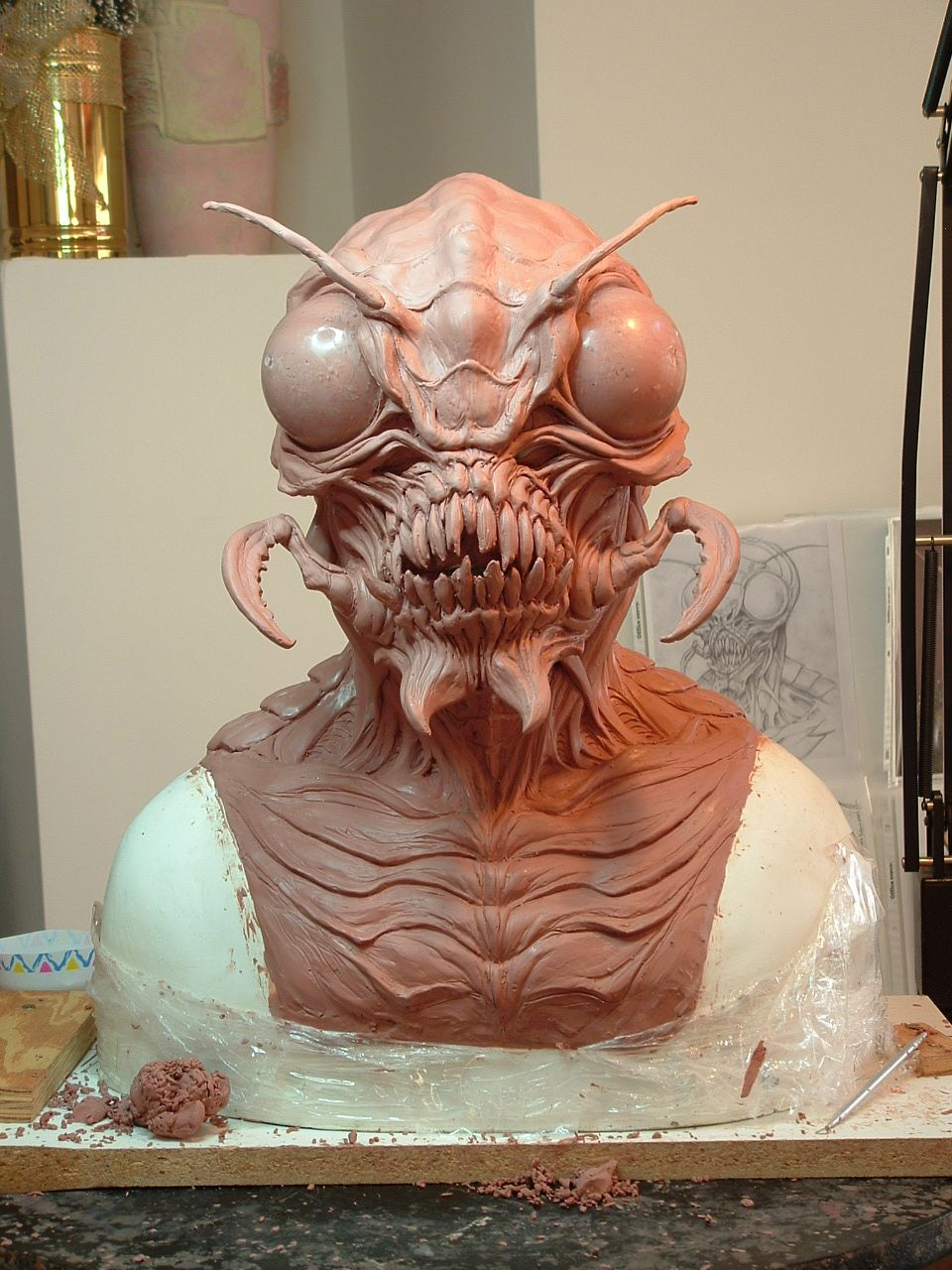 special effects artist mask