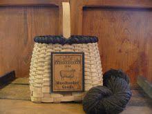 Sharp Top Wool Basket