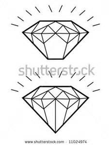 Diamond Tattoo Outline | Tattoo outlines | Diamond tattoos ...
