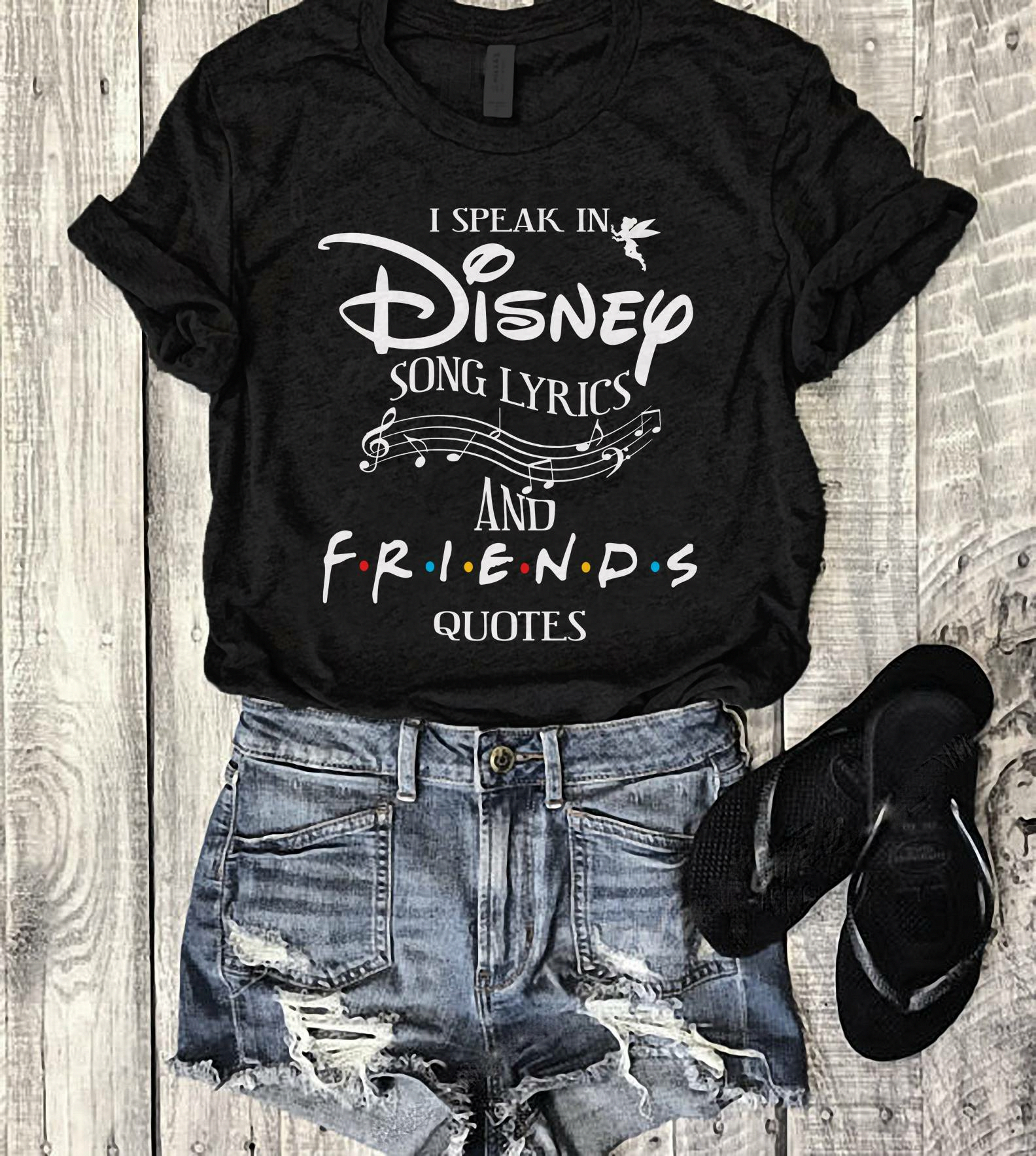 Disney and f.r.I.e.n.d.s, looks like someone just put my to fav things together