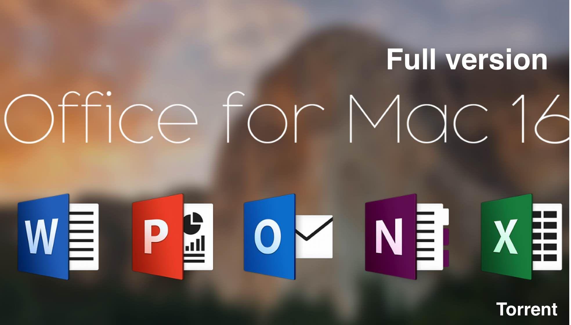 torrent mac office