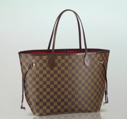 Louis Vuitton MM Never Full in Damier Ebene - want this sooo bad! Will be saving up for a while :(