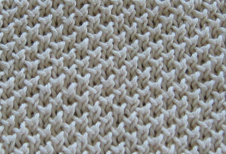 Knitting Ribbing Odd Number Stitches : Bee stitch odd number of stitches row knit