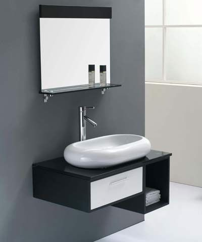 Awesome small floating bathroom vanity design several good for Bathroom vanities design ideas