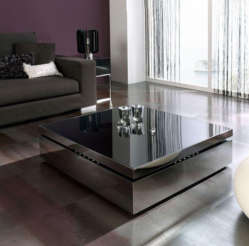 Mesa centro mesa de centro cuadrada mesas de centro - Centros mesa salon ...