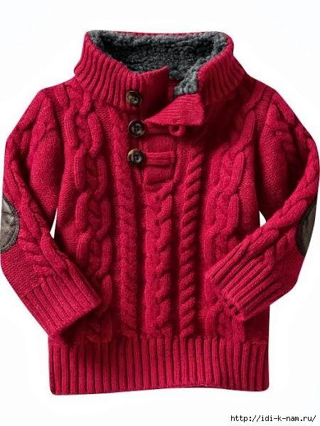 Связать детский свитер схема 423