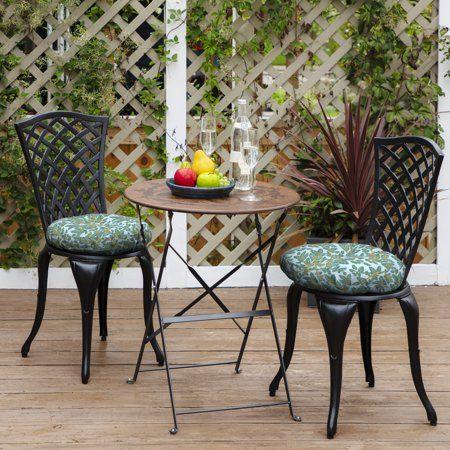 arden artisans eugene leaf outdoor 15 x 15 in round bistro seat rh pinterest com