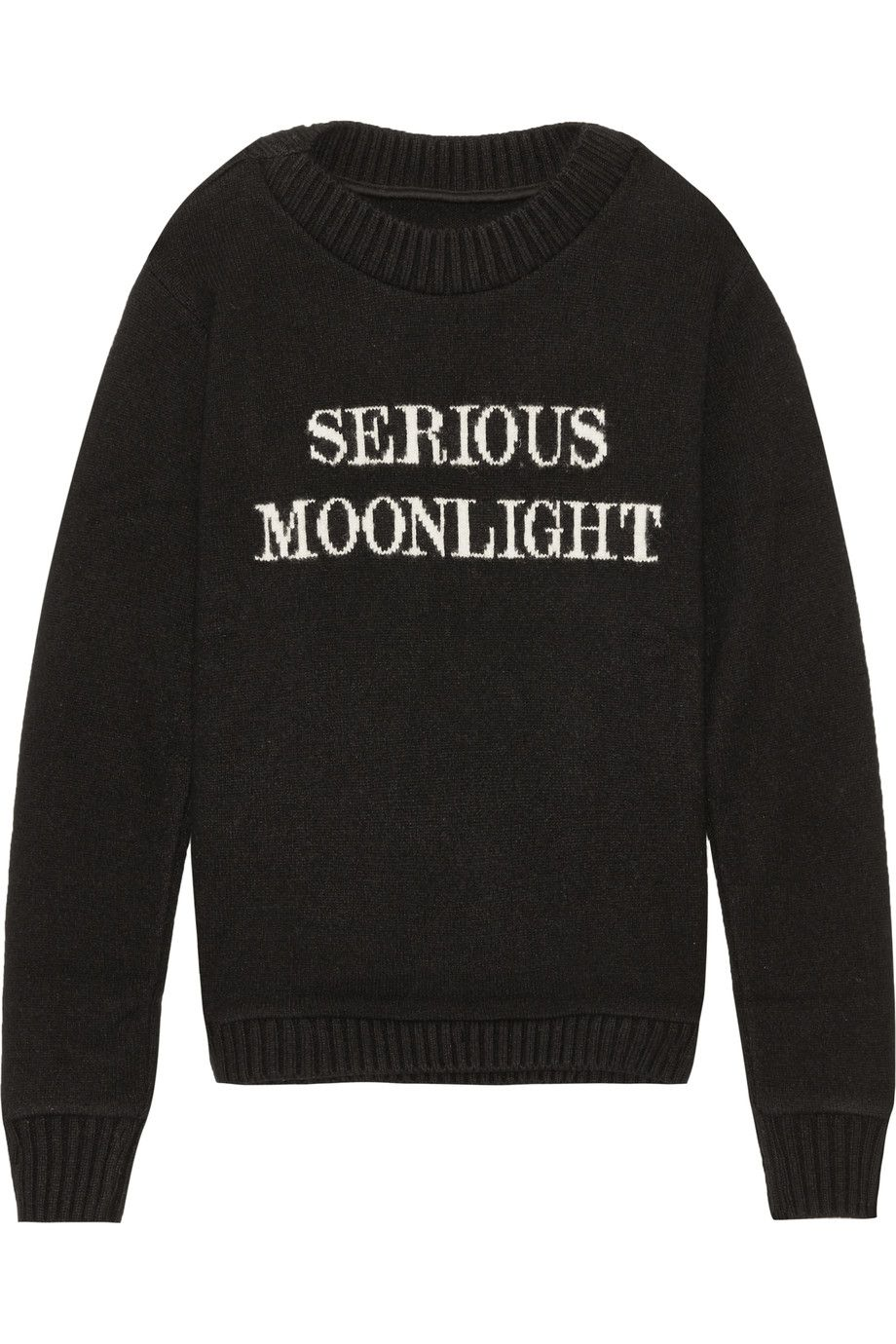 THE ELDER STATESMAN Serious Moonlight intarsia cashmere sweater€1,880