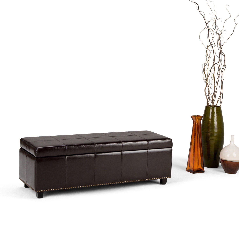 Wondrous Wyndenhall Stanford 48 Inch Wide Transitional Storage Short Links Chair Design For Home Short Linksinfo