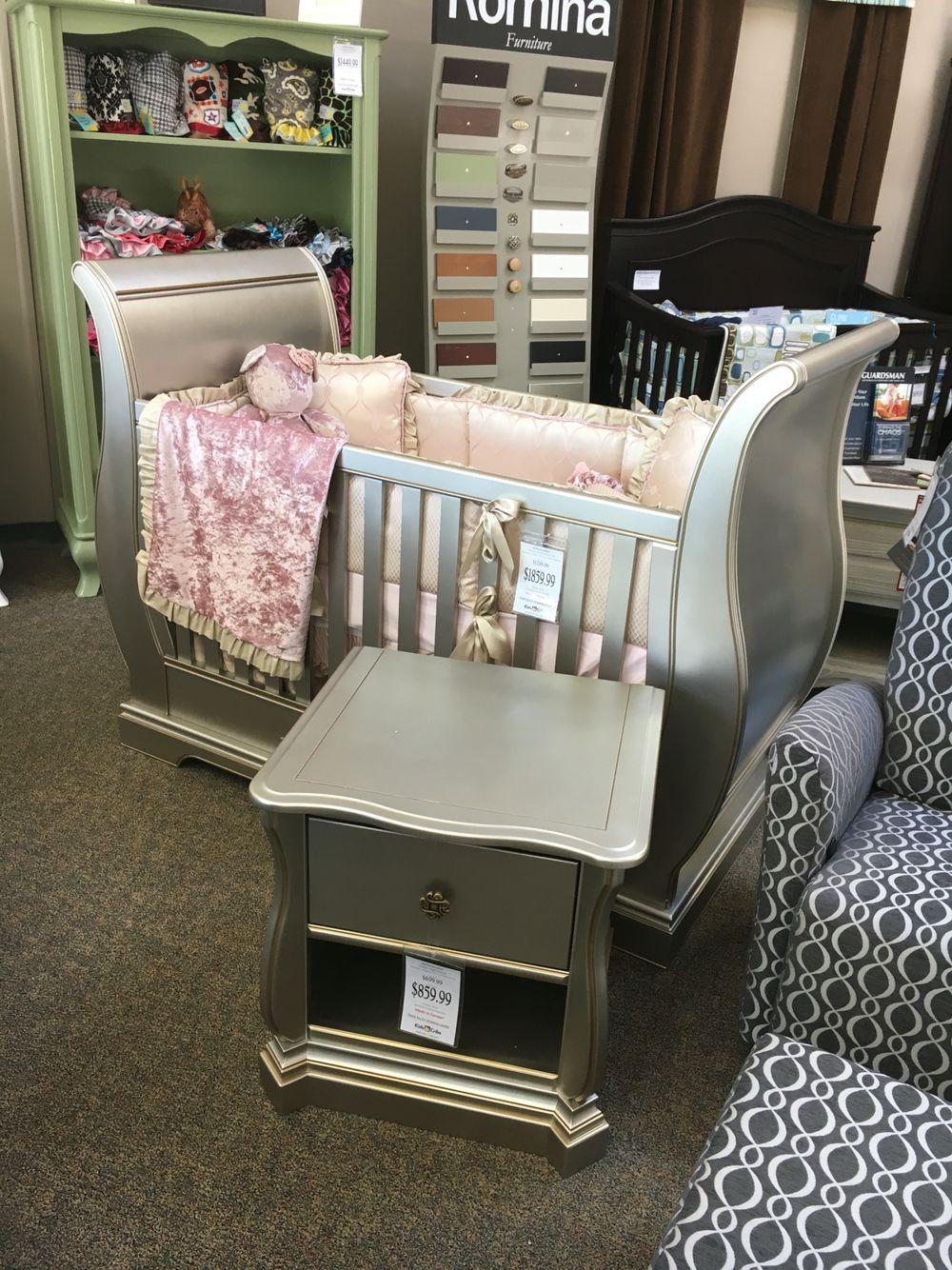 romina crib cribs solid karisma kids furniture panel white n