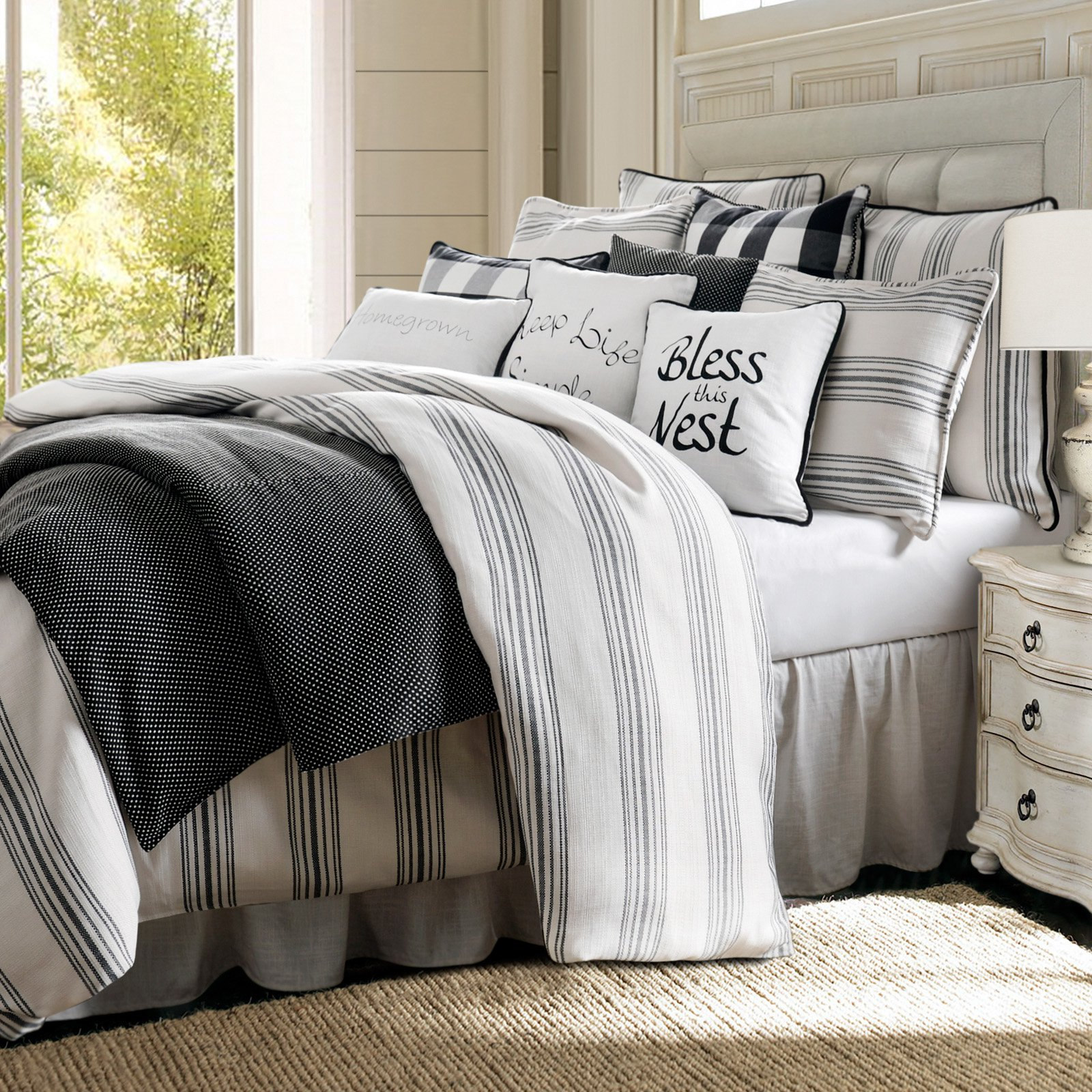 Blackberry Comforter Set by HiEnd Accents Comforter sets