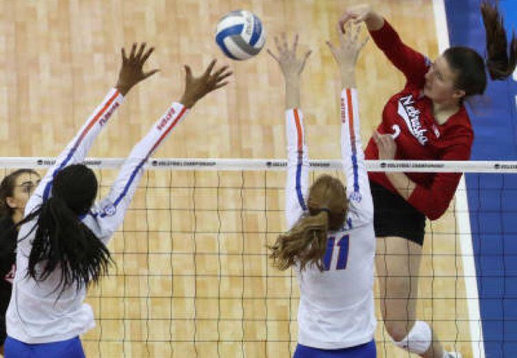Mikaela Foecke Women Volleyball Nebraska Huskers Nebraska
