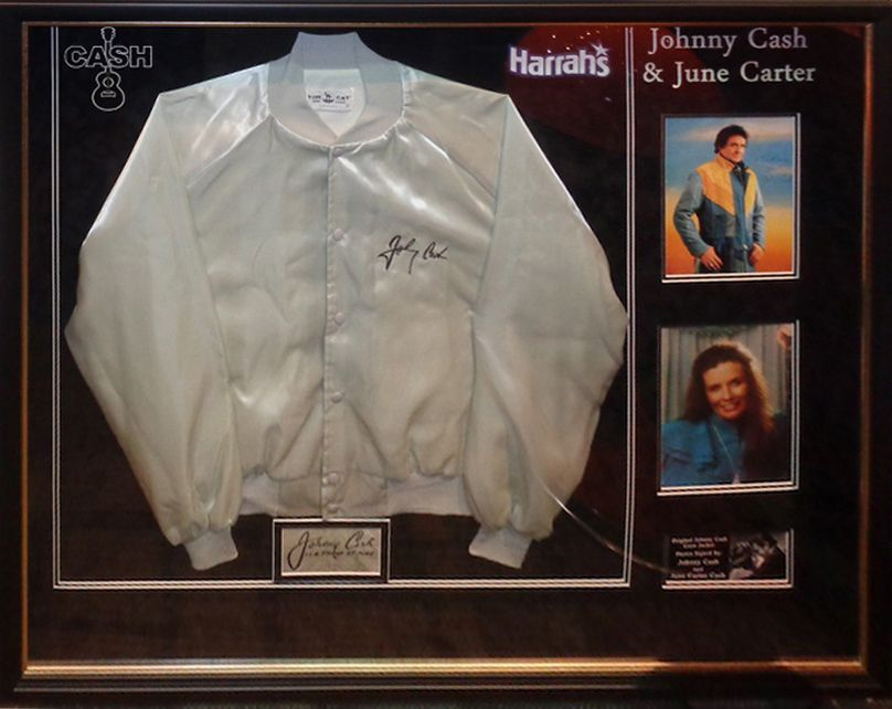 Antiquities LV - Johnny And June Cash Signed Photos And Crew Jacket, $3,995.00…
