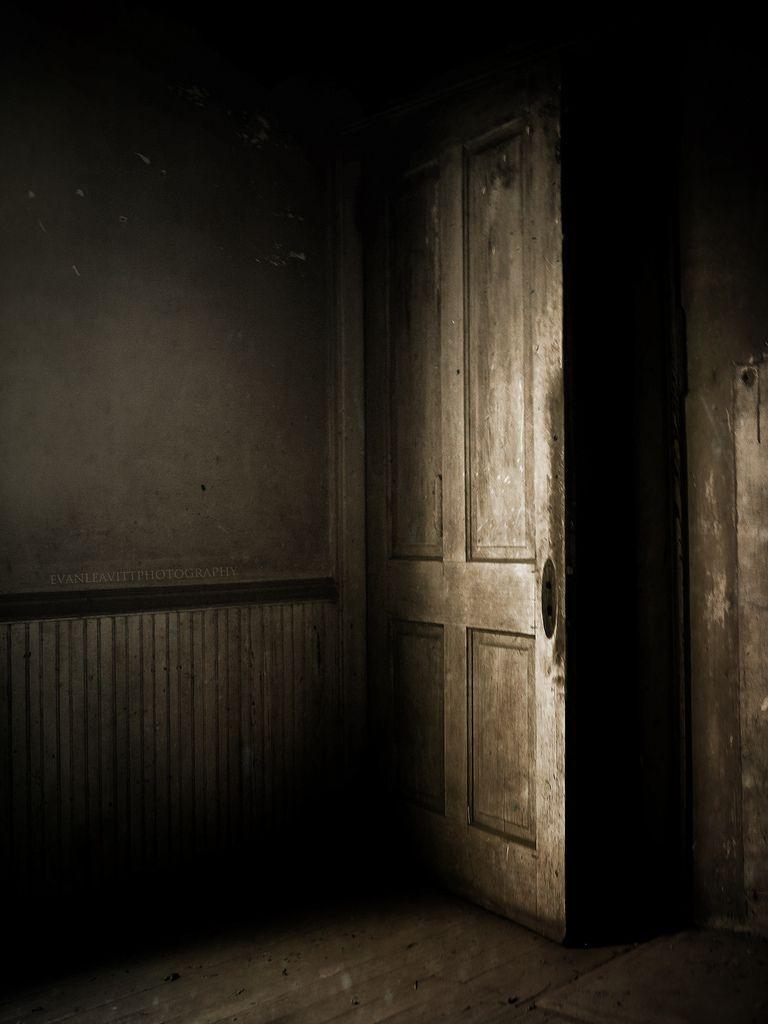 Old Haunted Door Cool Stuff Tall Cabinet Storage Dark
