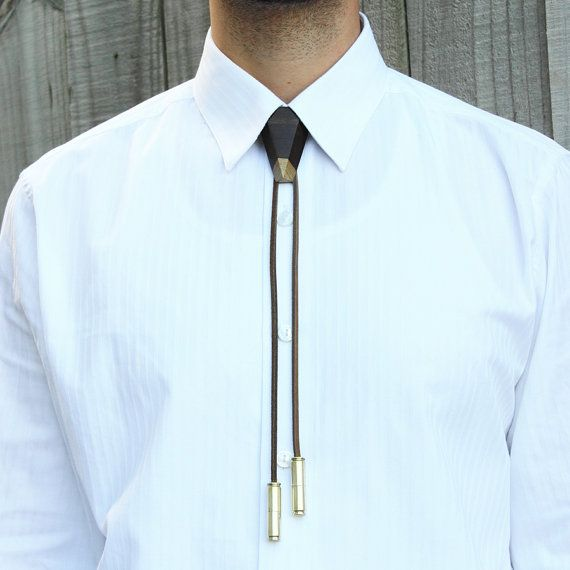 Handmade Bolo Tie Found On Etsy I Almost Didn T Want To Set A Click Through Link Trendy Clothes For Women Bolo Tie Men Bolo Tie