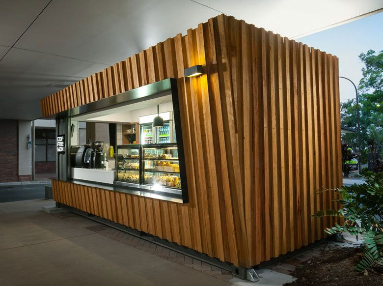 A shipping container cafe or pop up cafe is a great way