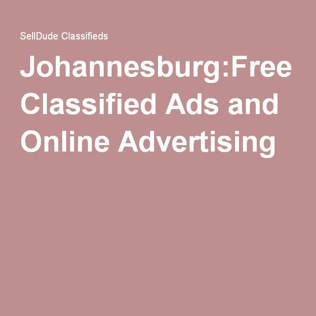 Classified ads johannesburg
