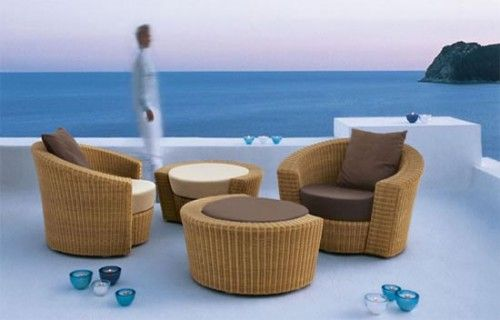 Rounded Rattan Furniture Design 3 Tyre Furniture Pinterest