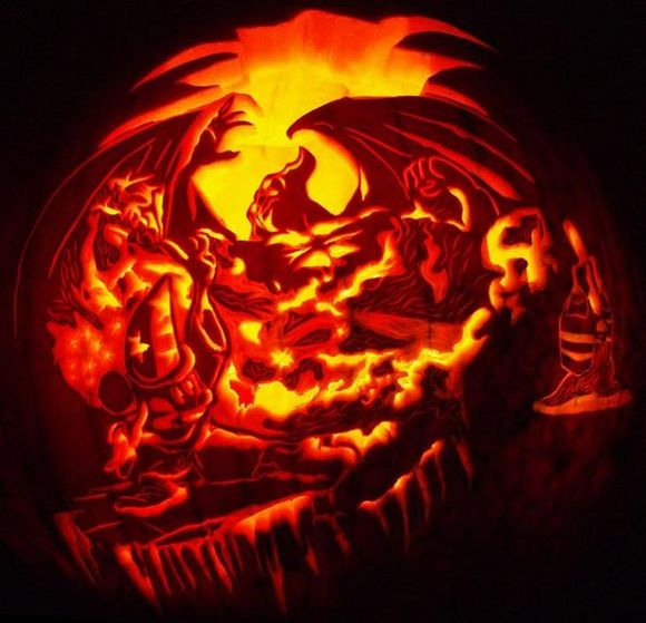 Mickey Mouse Fantasia Pumpkin Amazing Pumpkin Carving Halloween Pumpkins Carvings Disney Pumpkin