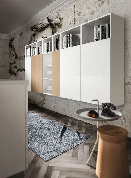 Home Cucine Cucine Moderne Componibili Modello Lux Bianco