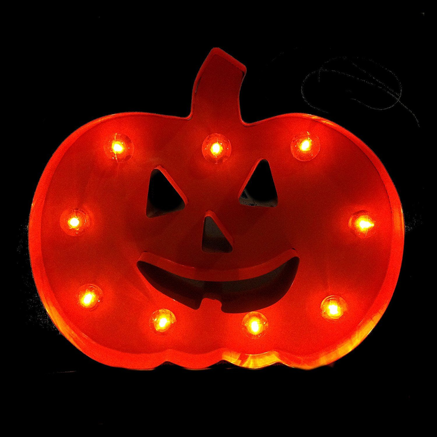 Halloween Marquee LED Decorative Lighted Signs (JackO