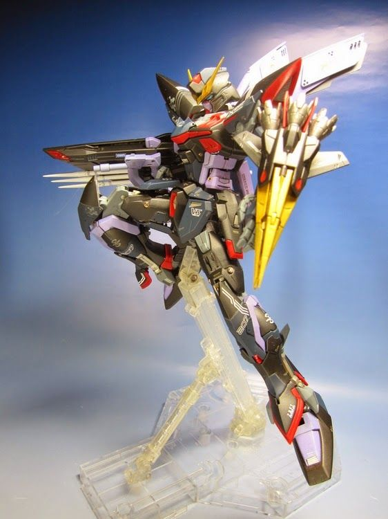 "Custom Build: MG 1/100 GAT-X207 Blitz Gundam ""Enhanced"" - Gundam Kits Collection News and Reviews"