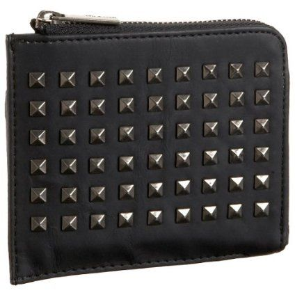 Matt & Nat Cosmo Nappa-Style Wallet,Black,one size