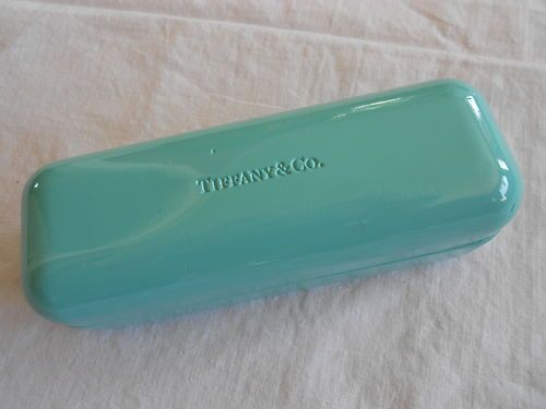 986fab07cb6 Tiffany & Co glasses case. I bought this off of Ebay for my glasses or  sunglasses. Love Tiffany blue! <3