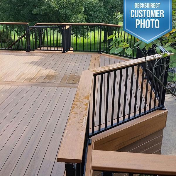 Westbury tuscany series aluminum railing features