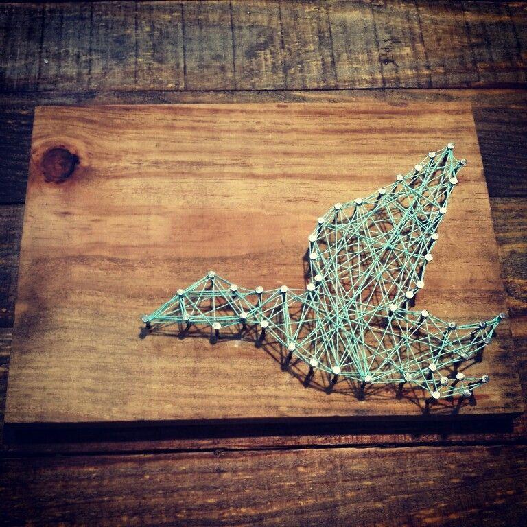 Duck string art