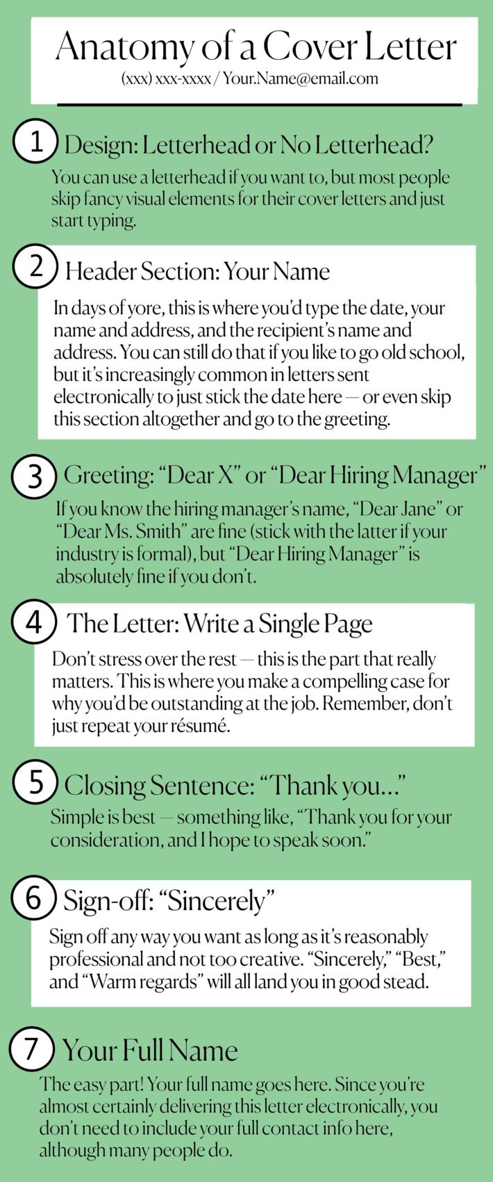 How to Write a Cover Letter That Will Get You a Job Job