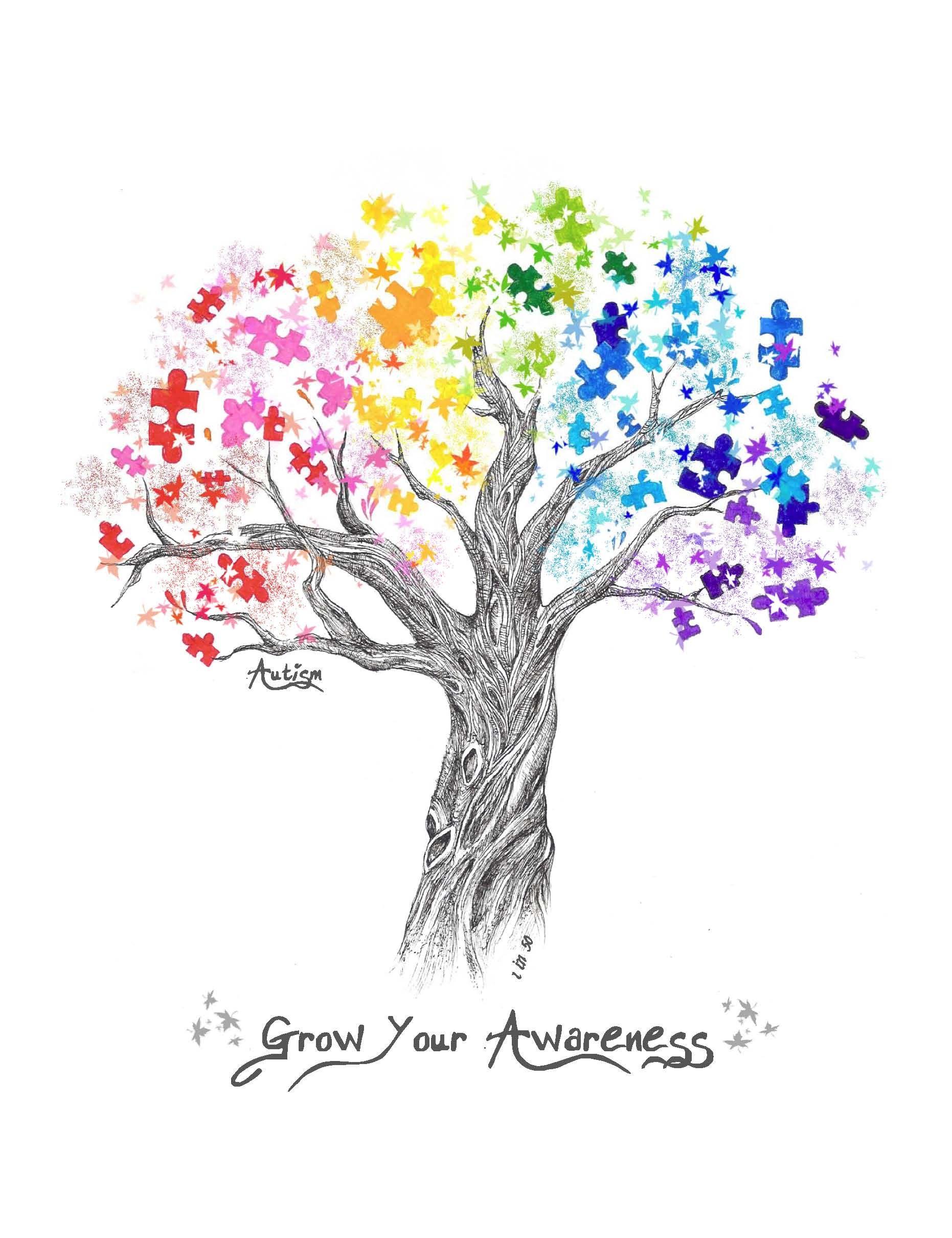 beautiful autism awareness logo Would make a great tattoo