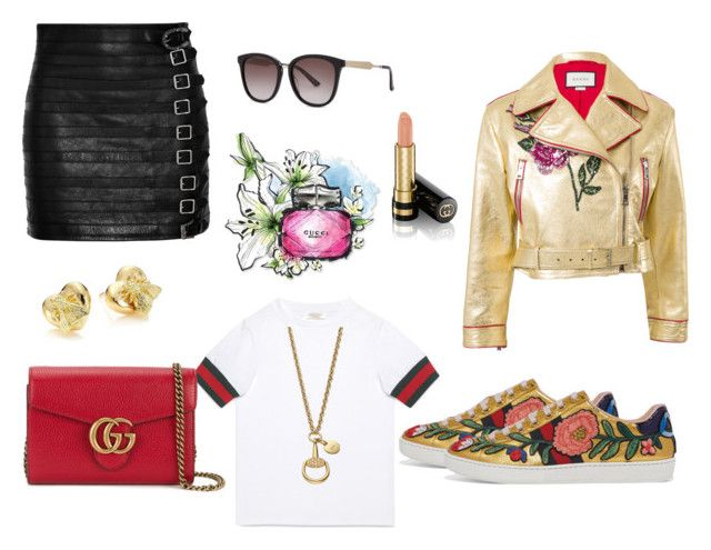 """""""Today i wear Gucci"""" by bya-nice ❤ liked on Polyvore featuring Gucci"""