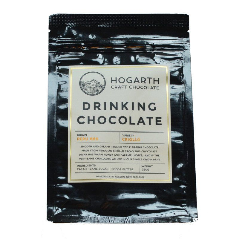 Hogarth Craft Chocolate Peru 66 Drinking Chocolate