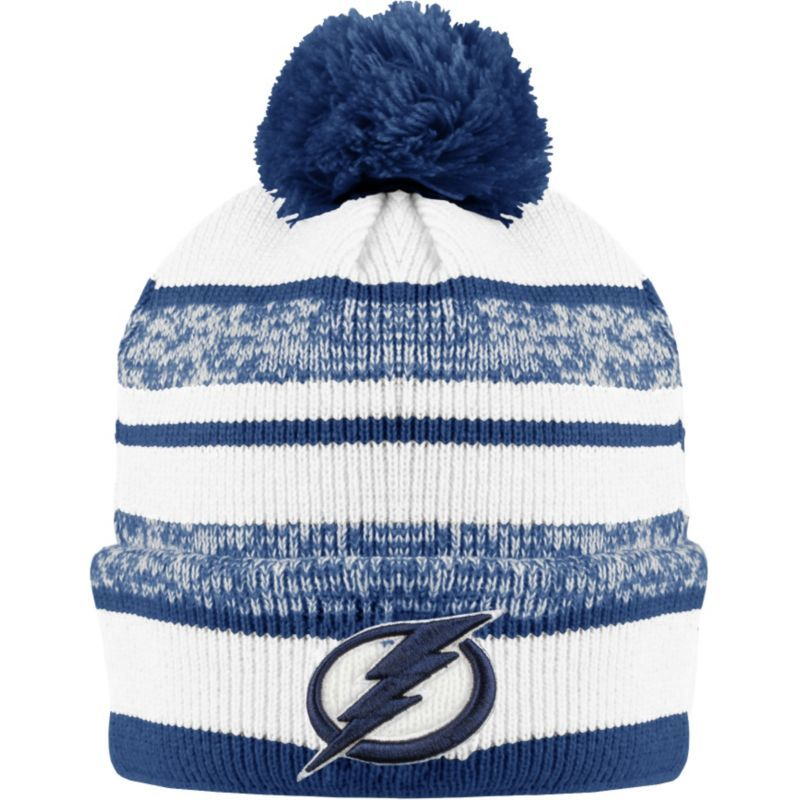 c963c7560e5 ... denmark old time hockey mens tampa bay lightning clay royal cuffed knit  hat 7923a 1c05c