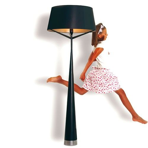 Replica S71 Big Floor Lamp - Black