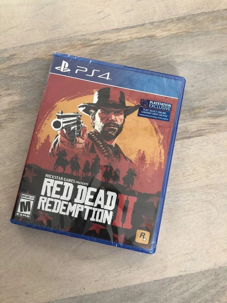 Brand New Factory Sealed Red Dead Redemption 2 Ps4 Reddeadredemption Gaming Xboxone Red Dead Redemption League Of Legends Game Game Presents