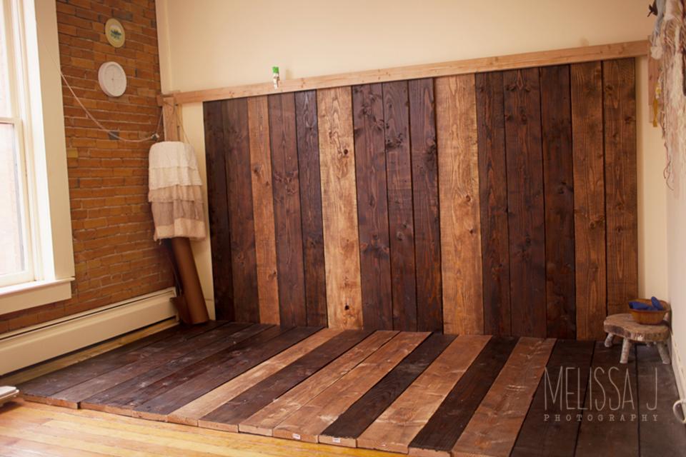 Newborn Photography Wood Floor And Backdrop Colorado