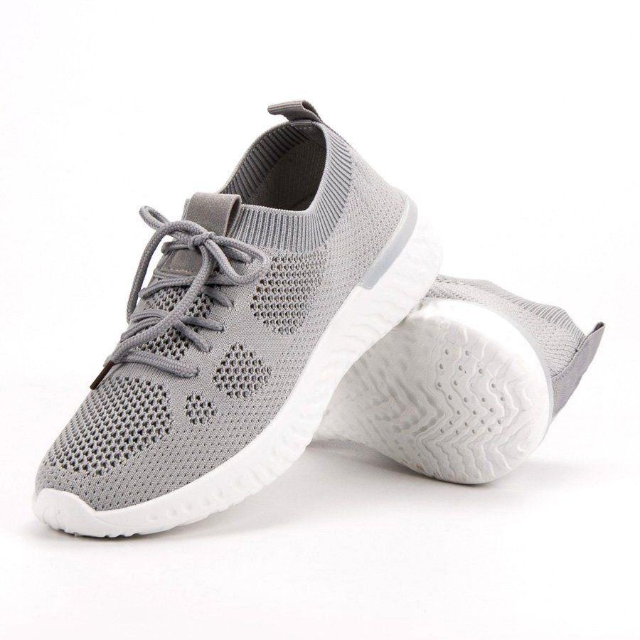 Przewiewne Buty Sportowe Szare Shoes World Shoes Adidas Tubular