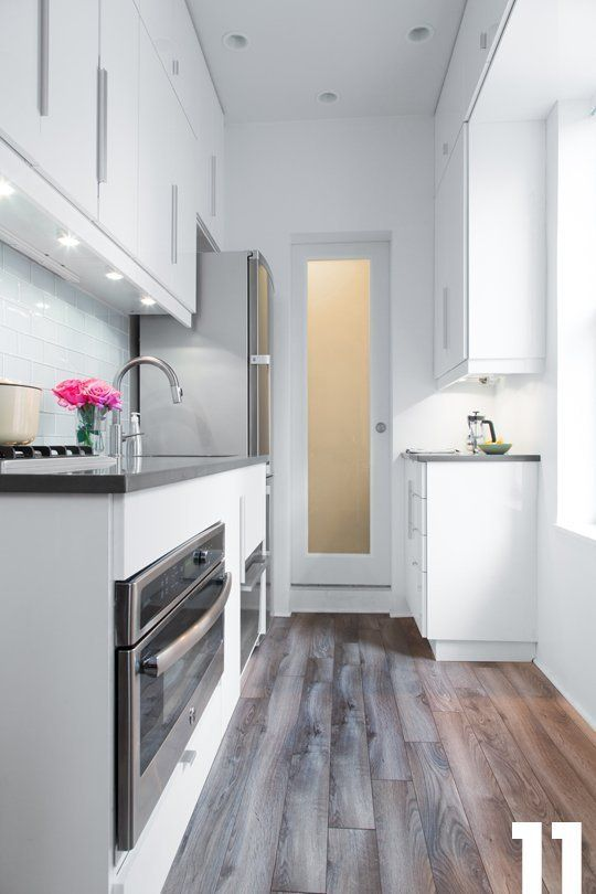 Jennifer S Small Space Kitchen Renovation The Big Reveal Small Space Kitchen Kitchen Design Small Kitchen Remodel