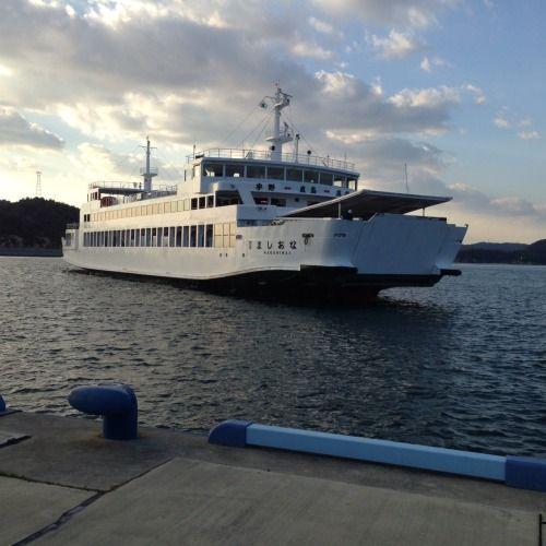 Naoshima Ferry, Japan