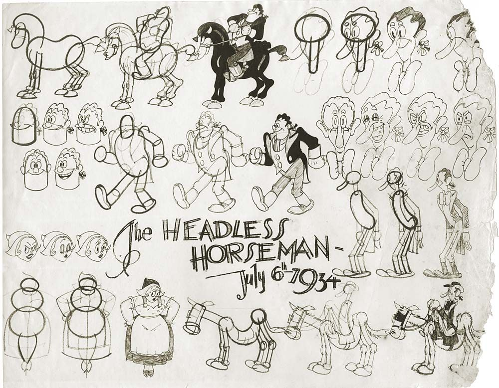 Ub Iwerks Cartoons Pinterest Cartoon Sketches Character Model
