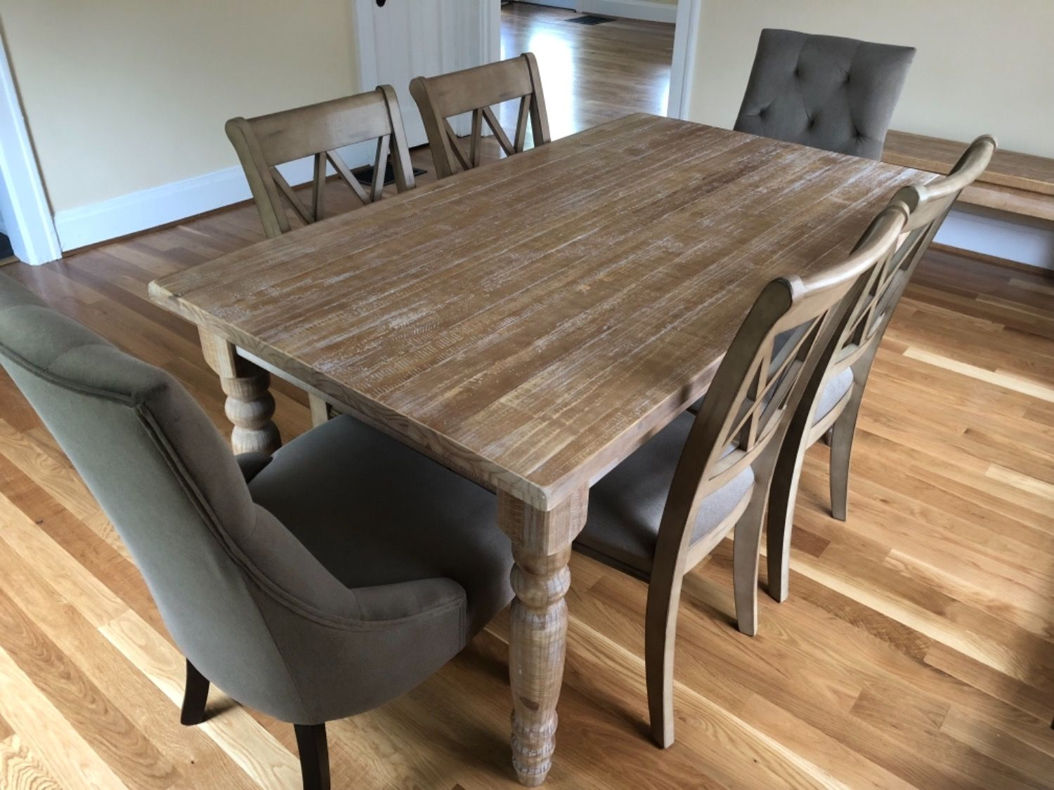 Valerie Original Dining Table Solid Wood Dining Table Wood