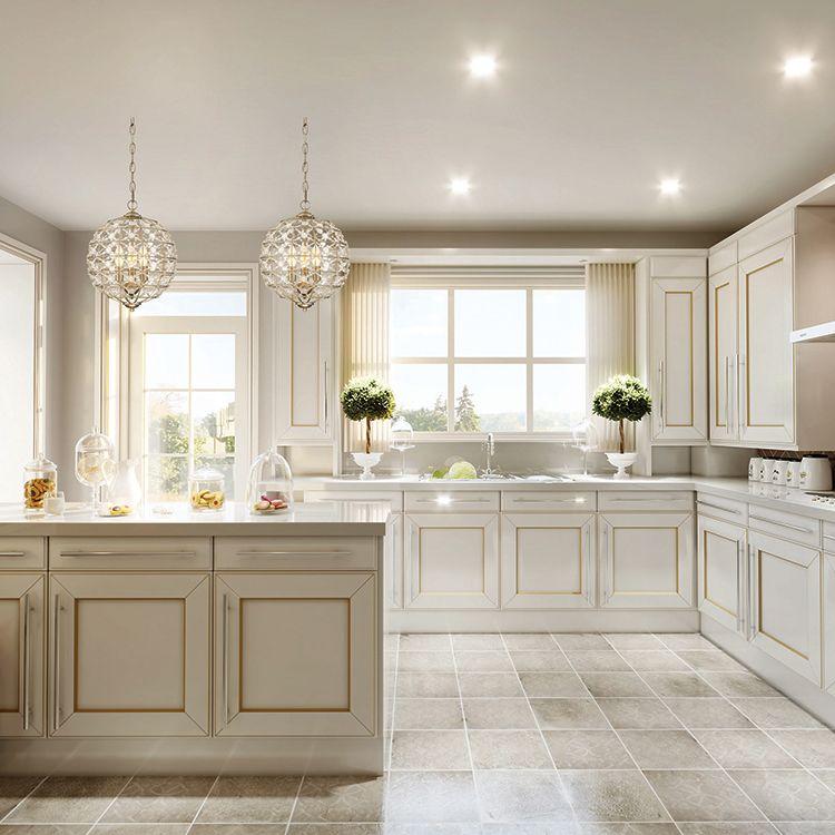 Farmhouse Kitchen Cabinets, Aurora White Kitchen Cabinets